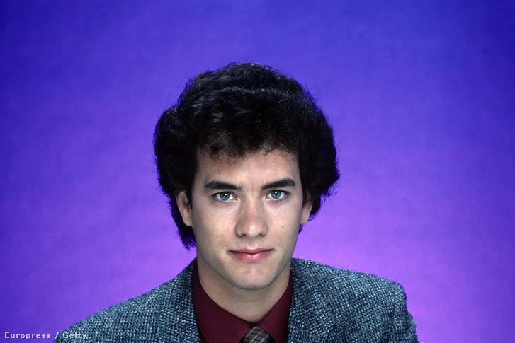 Tom Hanks a '80-as években.