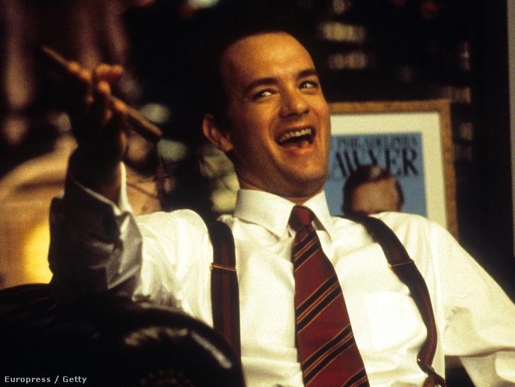 Tom Hanks a Philadelphiában.