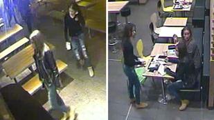 Ez a három nő egy budapesti gyorskajáldában bántott valakit