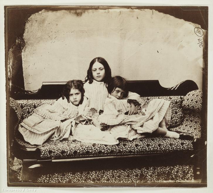 A három Liddel lány, Edith, Ina és Alice.