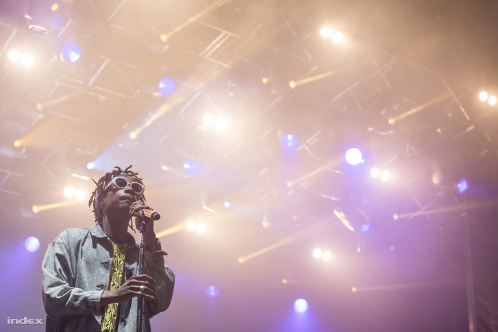 Wiz Khalifa a 2014-es Balaton Soundon.