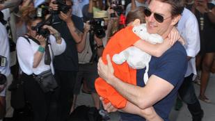 Tom Cruise gyanúsan eltűnt lánya mellől