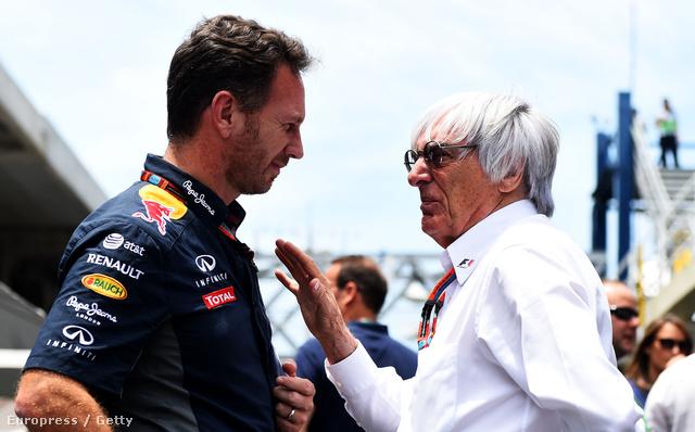 "Chris Horner Red Bull-főnök Ecclestone-nal: ""Az RBR-t elrendeztük"" - mondta pár hónapja Bernie"