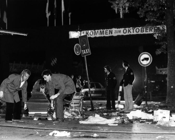 1980. szeptember 26-án az Oktoberfesten robbant bomba, a támadásban 13 ember halt meg.
