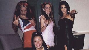 Amikor a tinédzser Kardashian Victoria Beckhamnek öltözött