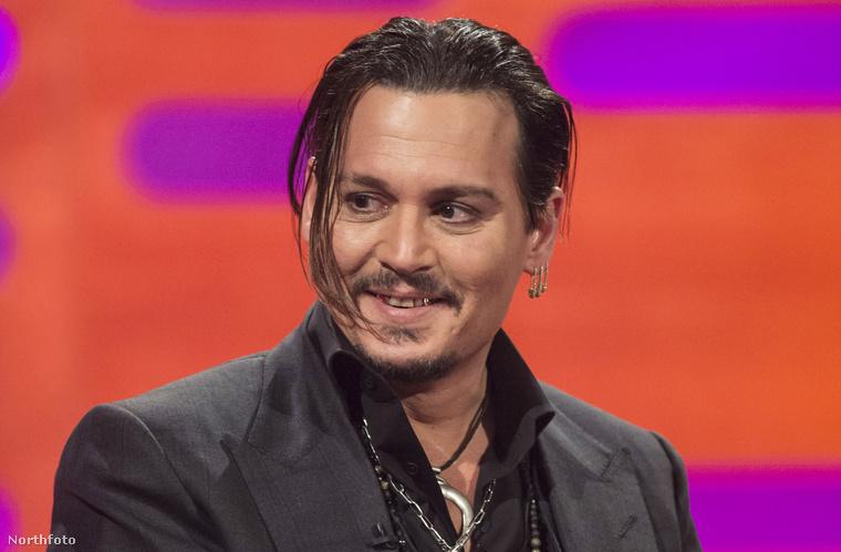 Johnny Depp ezen a héten pénteken