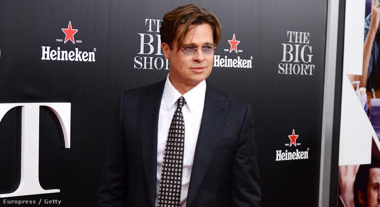 Brad Pitt ezen a héten hétfőn