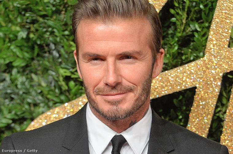 David Beckham ezen a héten hétfőn