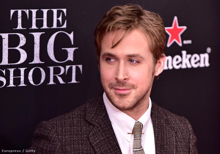 Ryan Gosling ezen a héten hétfőn