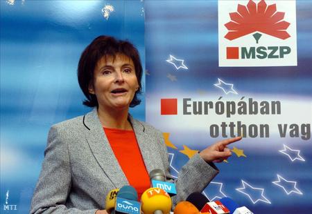 Lendvai, kettős állampolgárság – kérdések a Fideszhez címmel tart sajtótájékoztatót 2004-ben