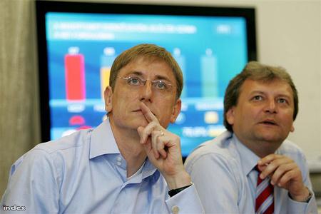 2006-ban az MSZP választási központjában
