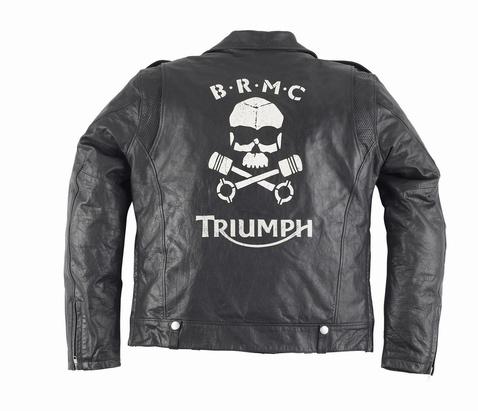 Triumph bőrdzseki akciók (újabb modellel frissítve!)