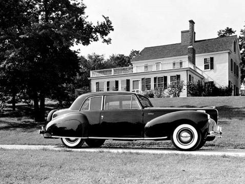 Lánykori nevén Lincoln Continental Coupénak hívták a Mark I-et.