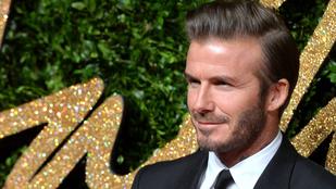David Beckham ciki apukásat játszott