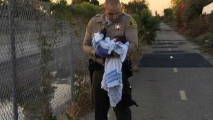 Horror: élve eltemetett csecsemőt találtak egy bicikliúton