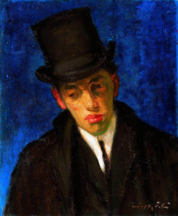 Márffy Ödön: Gulácsy Lajos arcképe, 1907