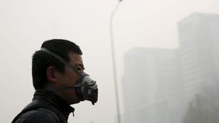 10 pokoli kép a szmogba fulladt Kínáról