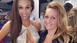 Vajnáné szépségkirálynője veszélyes dekoltázzsal megy Las Vegasba