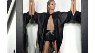 Paris Hilton Abodi Dóra ruhában pózol
