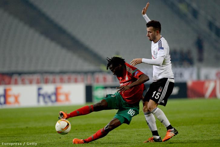Besiktas-Lokomotiv Moszkva Európa Liga-mérkőzés