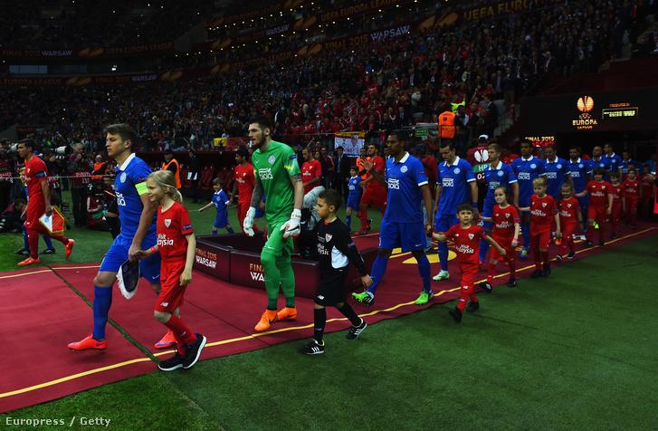 Dnyipro-Sevilla Európa Liga-döntő 2015. május 27-én
