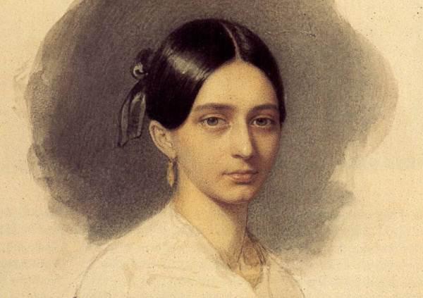 Clara Wieck (Schumann) 1840-ben