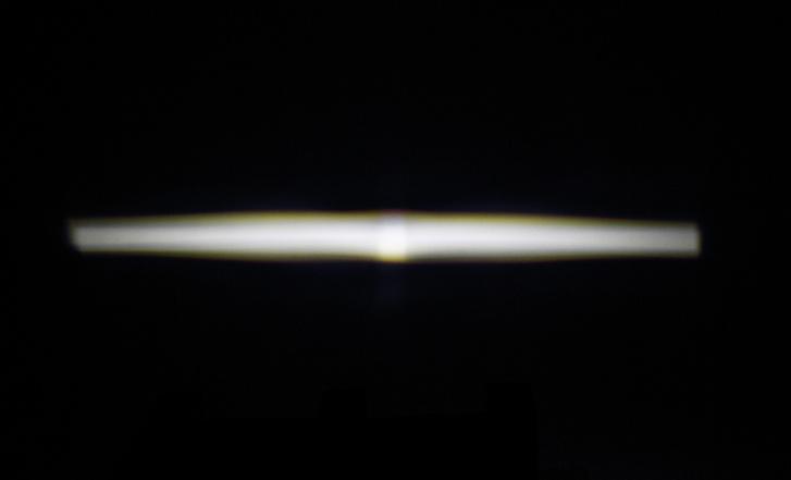 A ködlámpa vetített képe tökéletes, nulla a szórt fény, erős a fénye