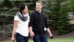 Megszületett Mark Zuckerberg lánya, Max