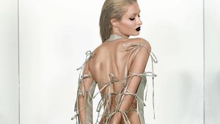 Paris Hilton kitette a hátsóját a Paper magazinnak