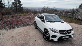 Mercedes GLE 450 AMG Coupé 4Matic - 2015.