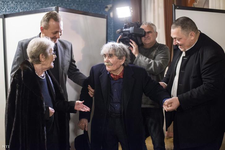 Törőcsik Mari, Juhász Ferenc, Vidnyánszky Attila