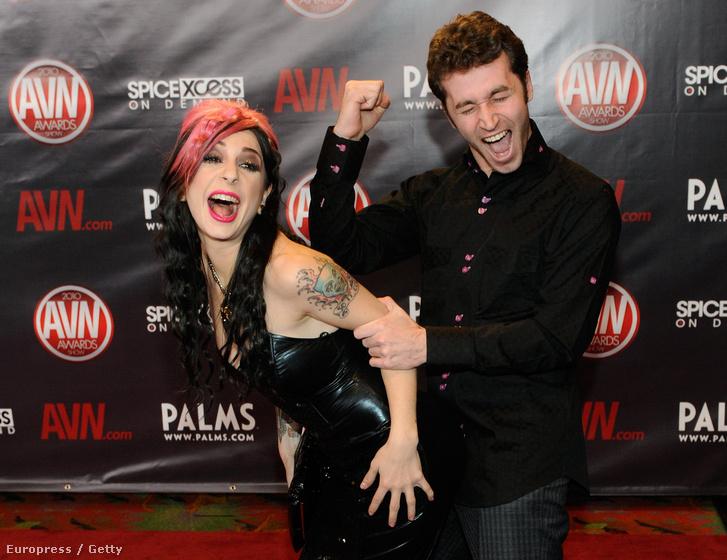 Joanna Angel és James Deen 2010-ben Las Vegasban