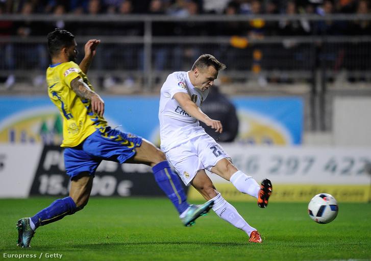 Cserisev a Cadiz elleni meccsen