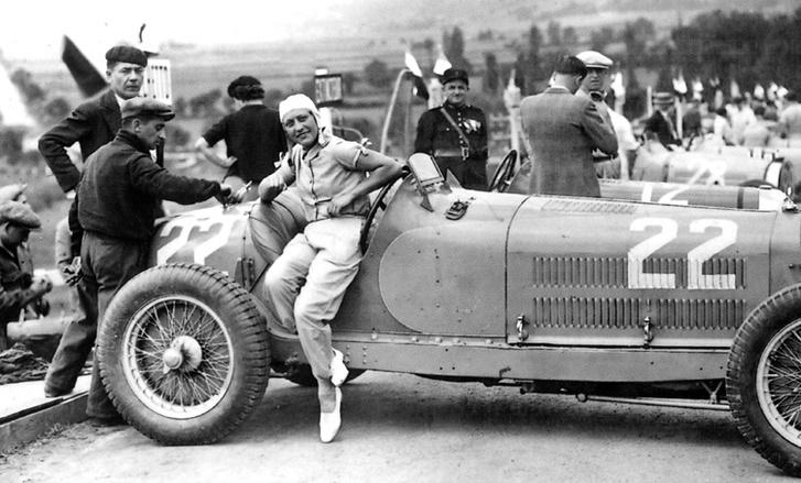 Hellé Nice, a nő, akinek pályafutását Chiron szakította félbe egy Alfa Romeo Monza 8C versenyülésében