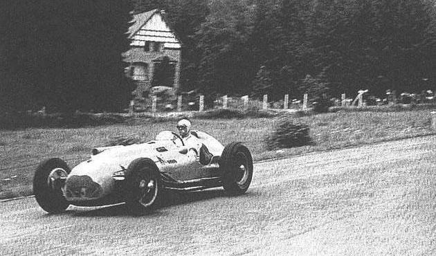 Az 1951-es Belga Nagydíjon egy Talbot-Logóval