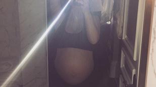 Megszületett Kim Kardashian második gyereke!