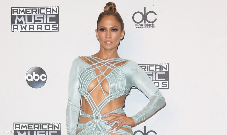 Jennifer Lopez az American Music Awardson Los Angelesben