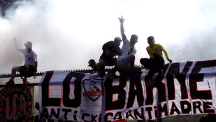 Így néz ki egy focis bunyó Chilében