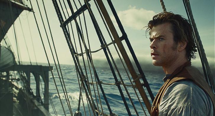 Chris Hemsworth a tengeren