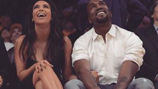 Bréking! Szent lett Kim Kardashian újszülött kisfia
