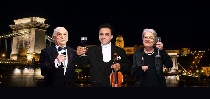 Bodrogi Gyula, Mága Zoltán és Törőcsik Mari