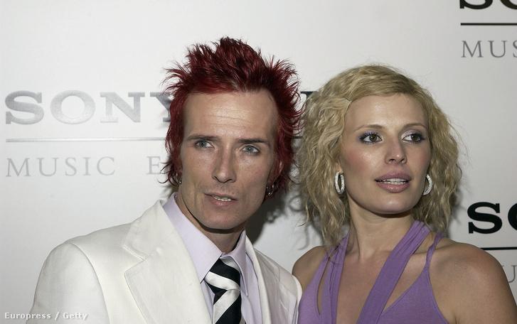 Scott Weiland és Mary Weiland 2005-ben