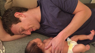 Zuckerberg újszülöttjével közös fotója miatt háborognak