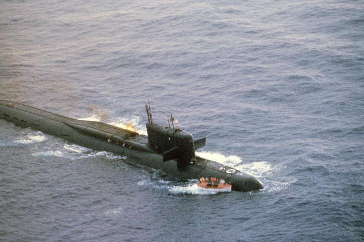 Egy Yankee-osztályú tengeralattjáró