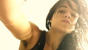 Michelle Rodriguez is elkezdte növeszteni a hónaljszőrét