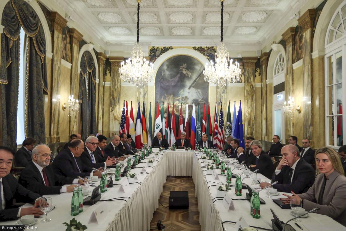 A bécsi tárgyalás résztvevői