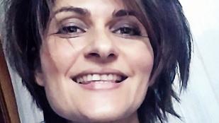 Varga Izabella rövidre vágatta haját