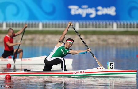 Vajda Attila olimpiai bajnok 1000 méteren