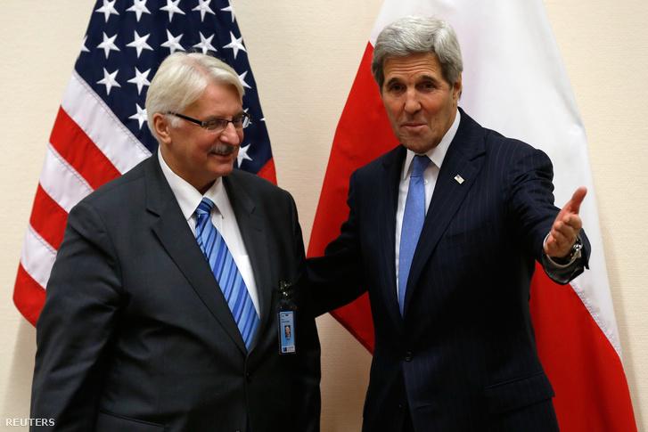 Witold Waszczykowski és John Kerry