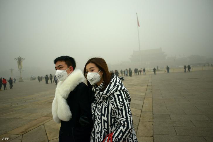Súlyos szmog Pekingben